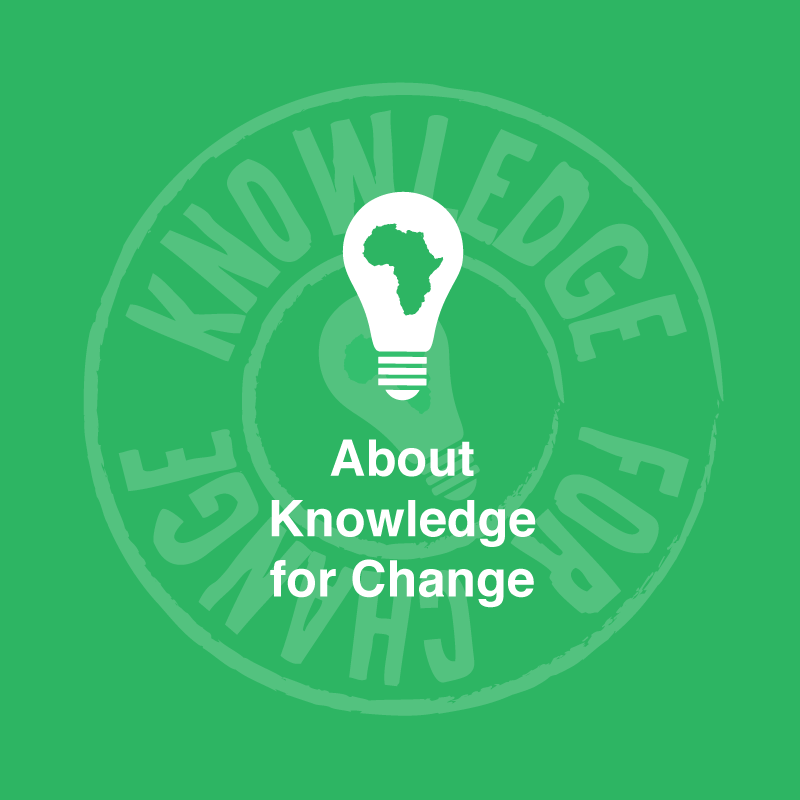 About the charity Knowledge for Change